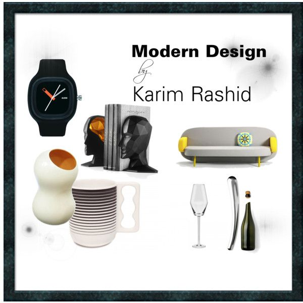 """Modern Design by Karim Rashid"" by inglenuk-design on Polyvore #KarimRashid #Modern #Design"