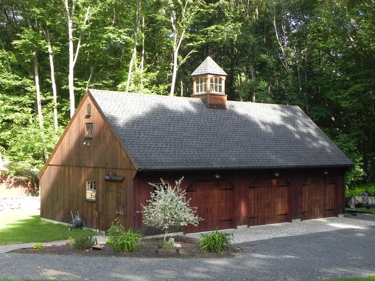 Our 22'x 42' Carriage House with 10/12 roof pitch. www