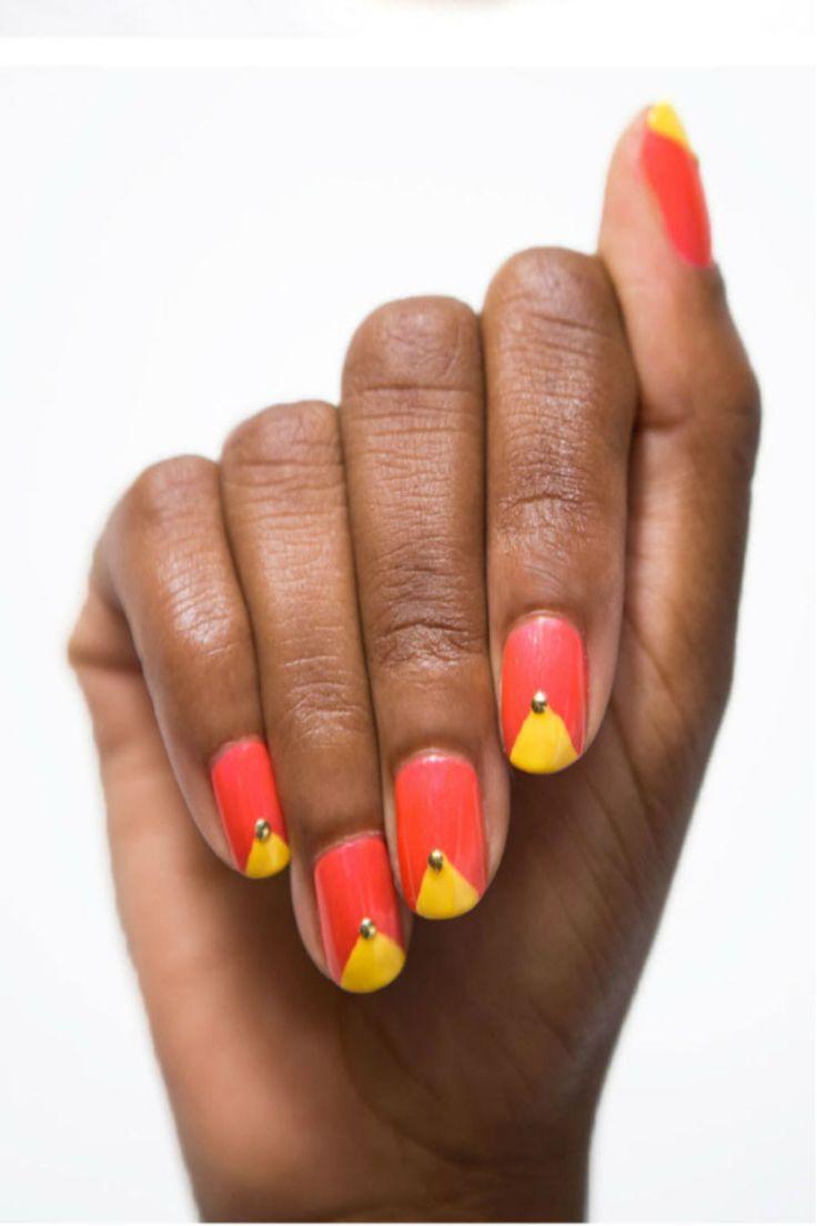 55 besten Yellow Nails ✌ Bilder auf Pinterest | Neon nägel, Gelb ...