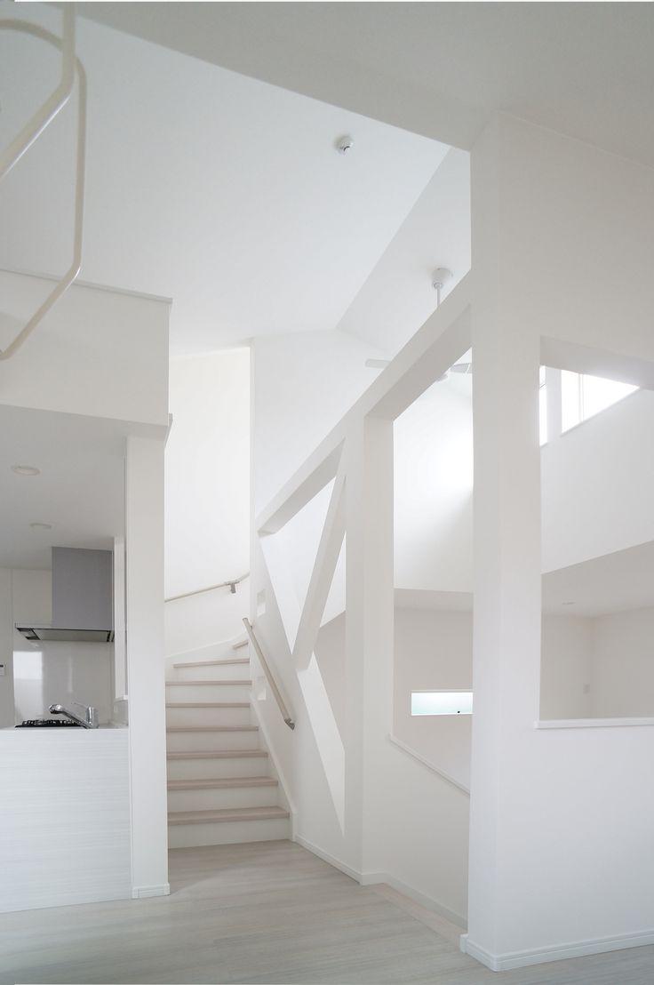 町田の住宅 1 #白いインテリア
