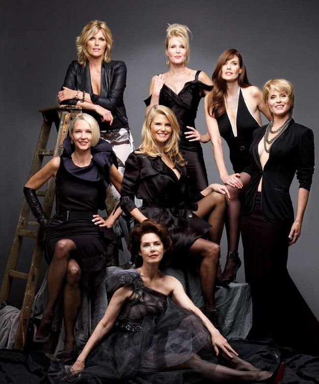Agencesilver Las modelos más longevas: guapas después de cumplir los 60
