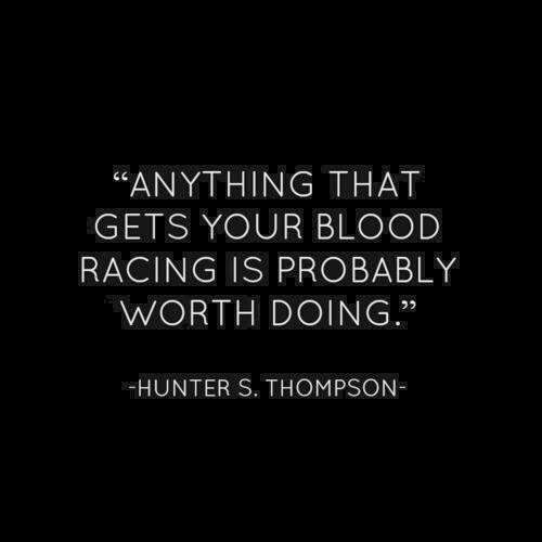 Anything that gets your blood racing is probably worth doing | Anonymous ART of Revolution #HNaughtyList
