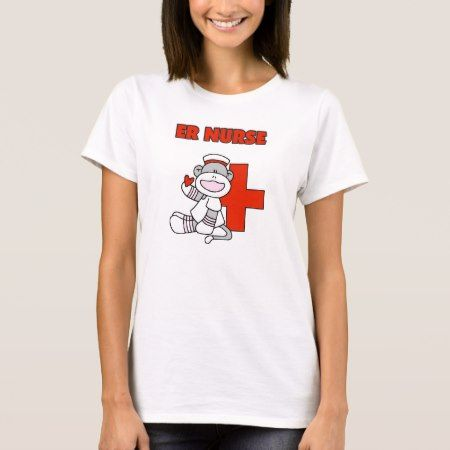 Sock Monkey ER Nurse T-shirts and Gifts - click to get yours right now!