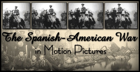 the Spanish-American War in Motion Pictures    This presentation features 68 motion pictures produced between 1898 and 1901 of the Spanish-American War and the subsequent Philippine Revolution. The Spanish-American War was the first U.S. war in which the motion picture camera played a role.