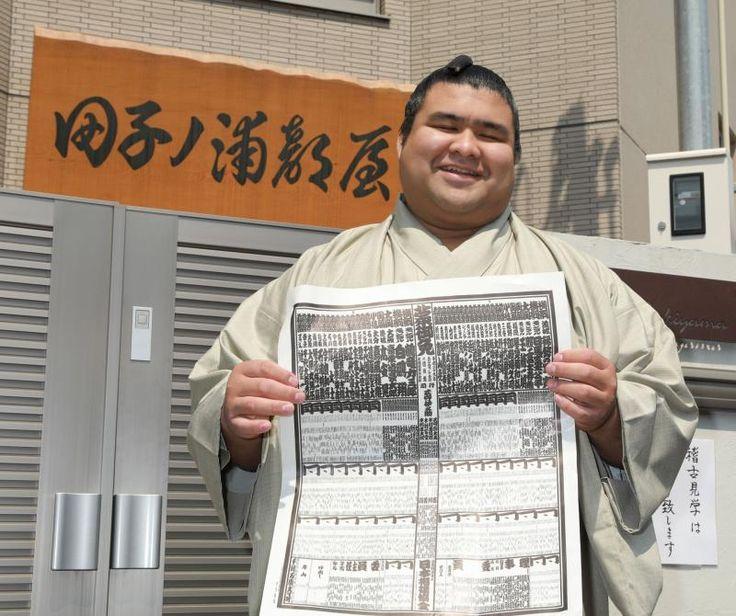 高安が大関とり「優勝を目指していきたいです」 / 日刊スポーツ #相撲 #高安