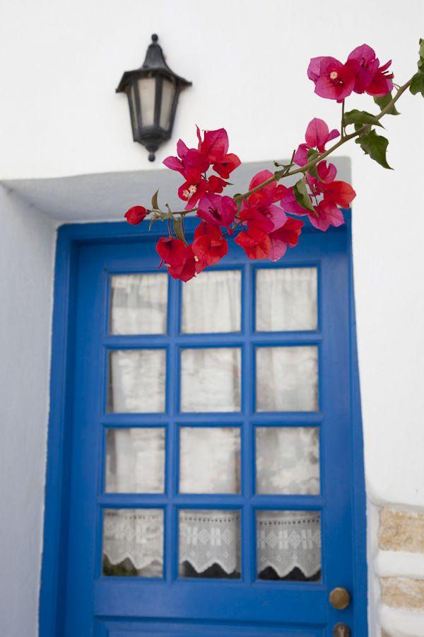Red & Blue of Folegandros, Greece