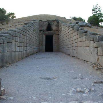 Treasury of Atreus--Mycenae w/ Corbelling