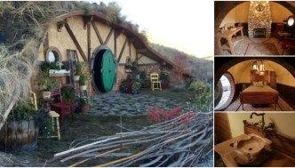 Fabulous Hobbit Style Tiny Houses for Rent in Washington!