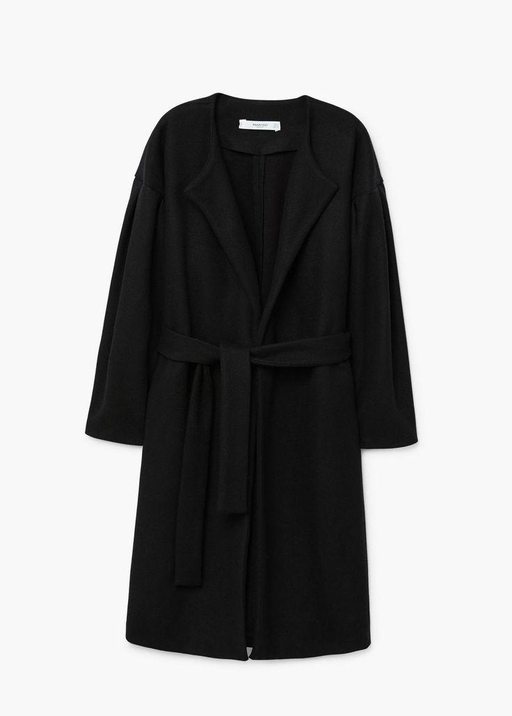 Puffed sleeves coat | MANGO