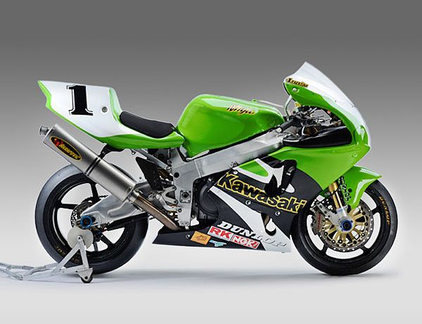 Kawasaki - Ninja ZX-7RR - 2001. One of the rare Factory RR's.