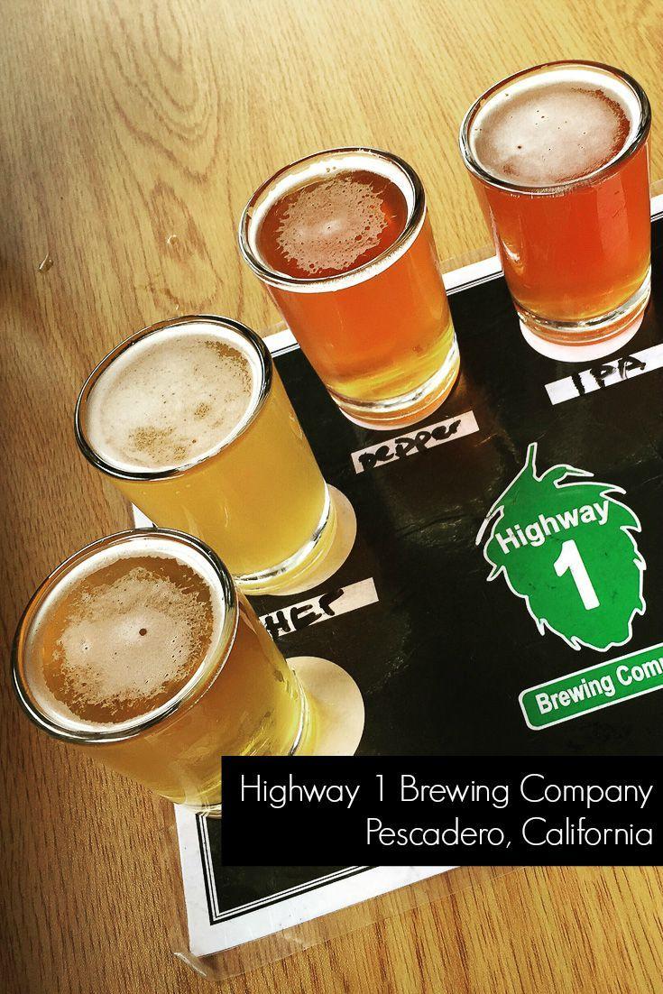 Craft beer on the Northern California Coast   Highway 1 Brewing Company   A Weekend Getaway to Half Moon Bay & Pescadero, California