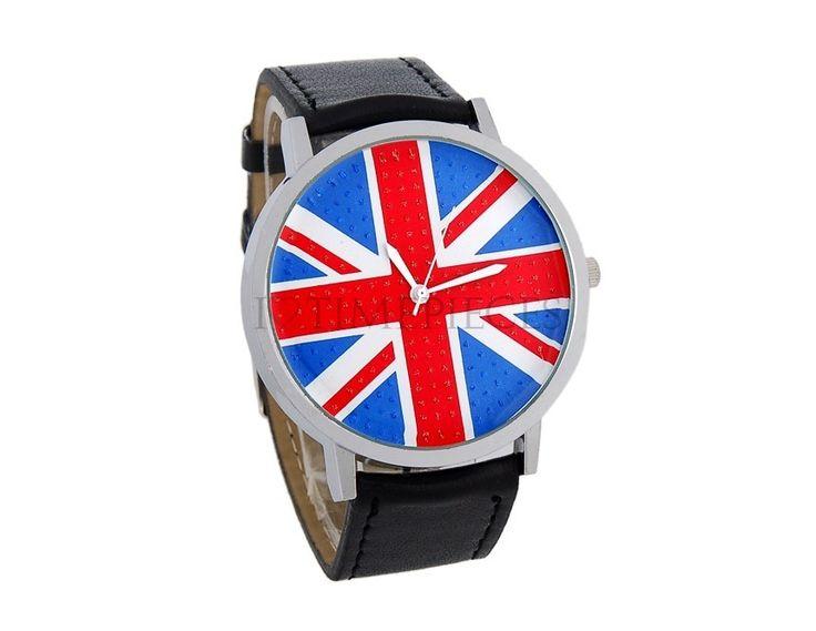 Men Watch UK Flag. Shop online on: ilovetimepieces.com