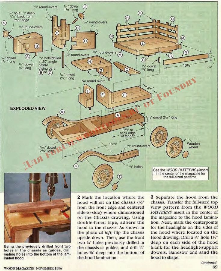 Ah! E se falando em madeira...: Brinquedo: Caminhão de fazenda