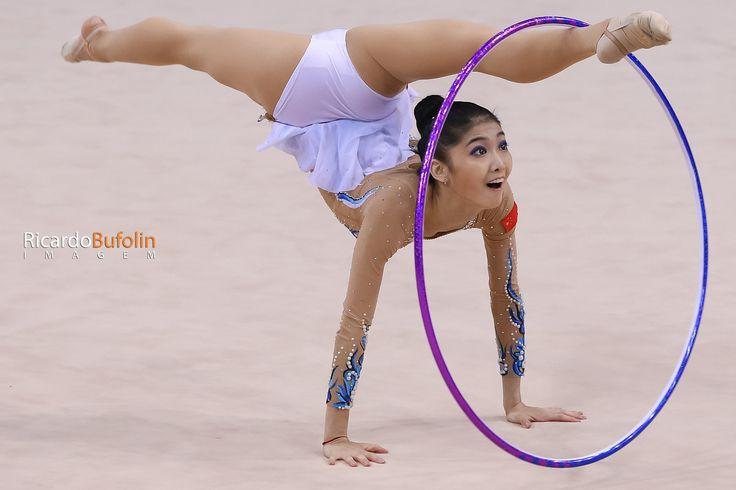JIAHUI LIU - CHN   Rhythmic Gymnastics  #fig #cbg #cob #canon #cpscanon #china #chn #dance #ballet #gymnastics #gimnasia #ginastica #ritmica #rhythmic #hoop #arco #rio2016 #olympic #games #sportphotography