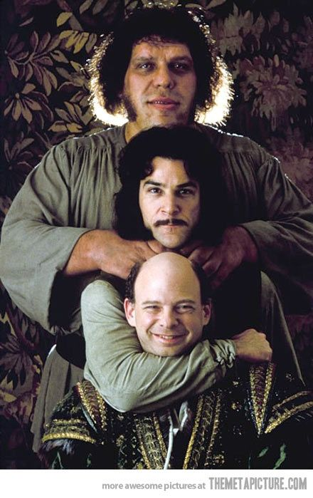 I can't look at these guys and not smile…  The Princess Bride<3
