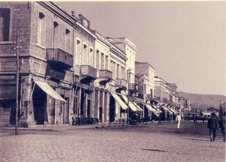 The Old City promenade circa 1920