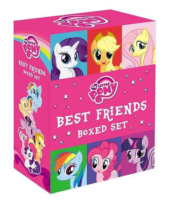 My Little Pony Best Friends Paperback Boxed Set