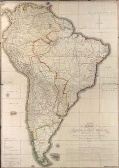América del Sur. Mapas generales. 1799
