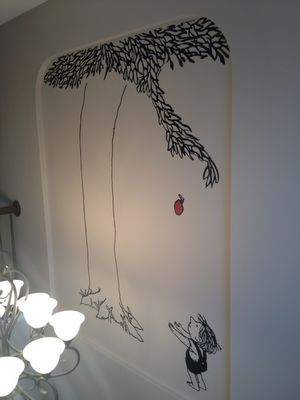 Would love this wall decal for the kids' reading area - The Giving Tree! <3