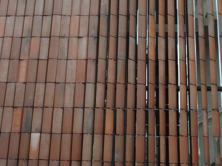 terracotta louvers in Krakow