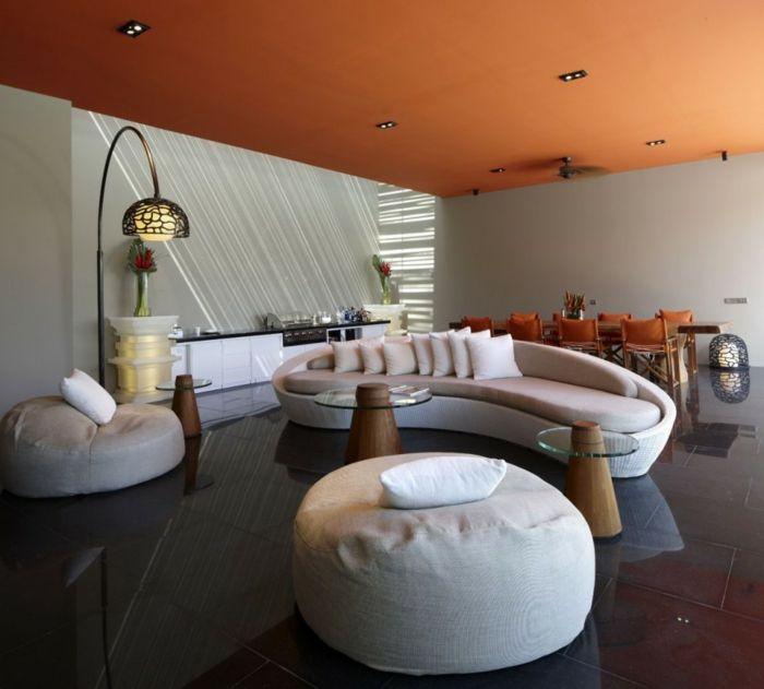 Die besten 25+ Orange gestrichene zimmer Ideen auf Pinterest - wohnzimmer orange streichen
