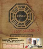 Lost: Season 5 - Dharma Initiative Orientation Kit [Limited Edition] [5 Discs] [DVD], 10264000