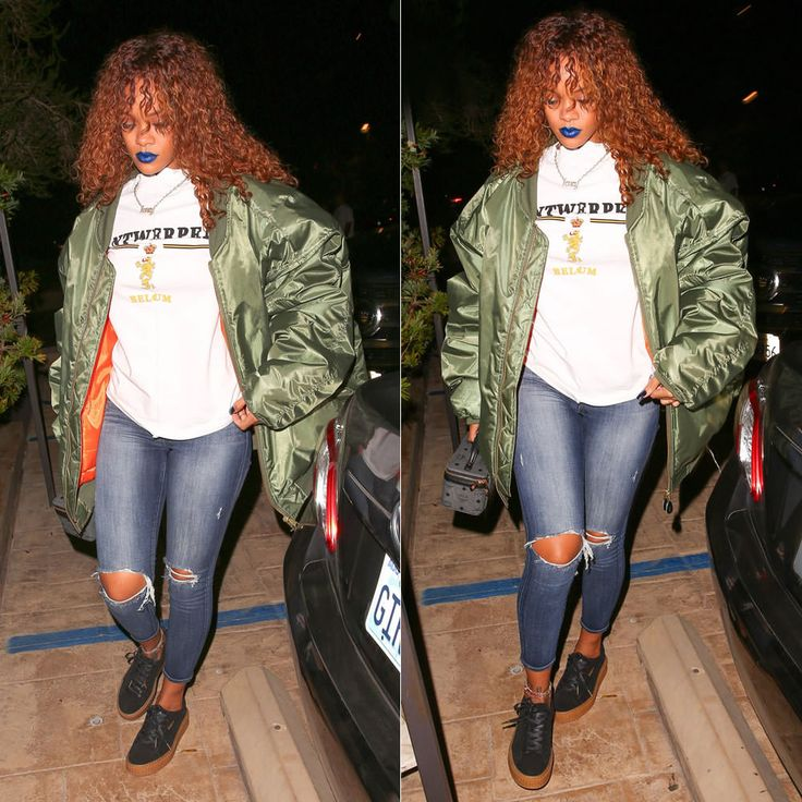 Puma Rihanna Creeper Black