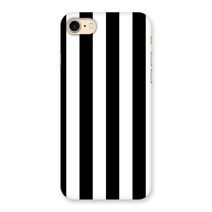 Lavish Black Stripes Back Case for iPhone 7 | Mobile Phone Covers & Cases in India Online at CoversCart.com