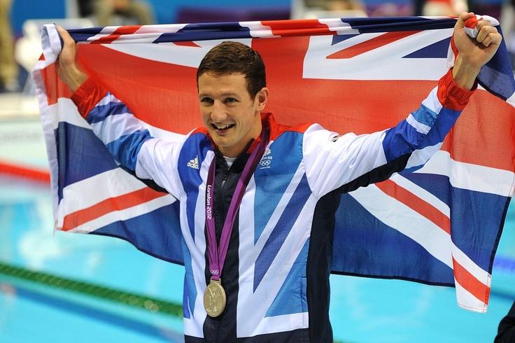 Michael Jamieson  : SILVER - Swimming, Men's 200m Breaststroke Final