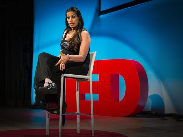"""'I have Cerebral Palsy. I shake all the time. I'm like Shakira meets Muhammad Ali.""  Arab-American comedian Maysoon Zayid talks about life as an actress, stand-up comedian, philanthropist, and advocate for people with disabilities in this TED Talk. And seriously: It's hilarious."