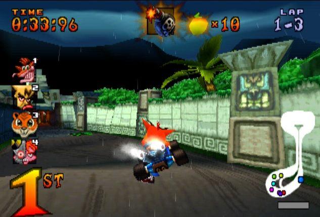 Kode Cheat Crash Team Racing (CTR) PS1 Lengkap Bahasa