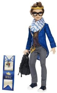 Dexter Charming Doll Dexter Charming, the dashing son of Prince Charming. Royal accessories include a golden crown, striped scarf, chain belt and slate one-shoulder backpack. http://bitly.com/1zdaV7F