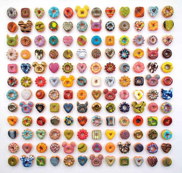 Ceramic Donuts by Jae Yong Kim – Inspiration Grid | Design Inspiration #art #artist #artwork #sculpture #foodart #donut #ceramicart #inspirationgrid