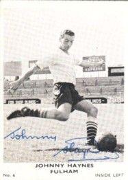 6. Johnny Haynes Fulham