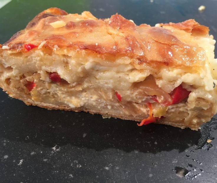 Τυρόπιτα με 4 τυριά, διώροφη 21oct16 #tiropita #cheesepie #argiro