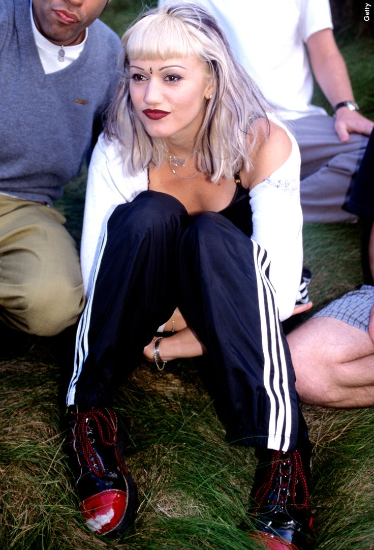 #TB to when a 90s Gwen Stefani changed the game of the three-stripe style forever <3