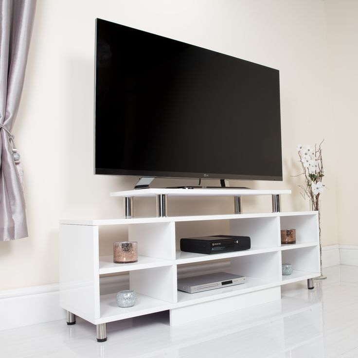 Httpabreocoukliving Room Furnituremodern Tv Stands6 Shelf High Gloss White Tv Storage