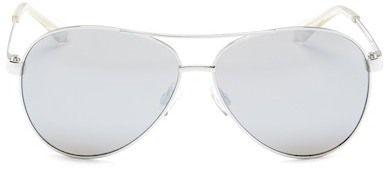 Diane von Furstenberg Women's Aviator Sunglasses