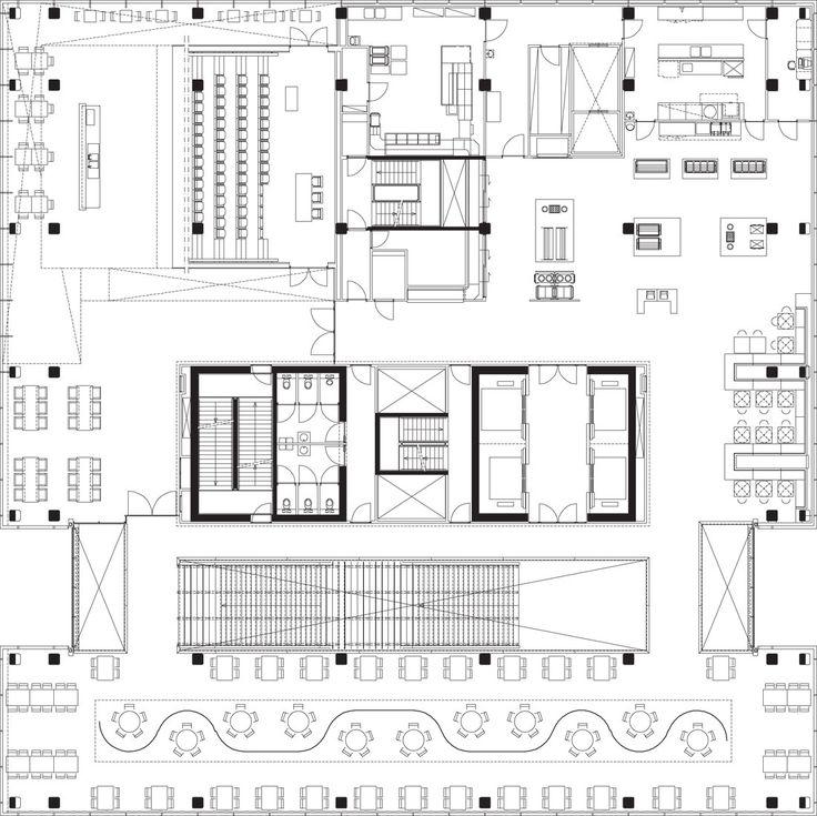 Office Building Blueprints: 17 Best Images About Office Floor Plans On Pinterest