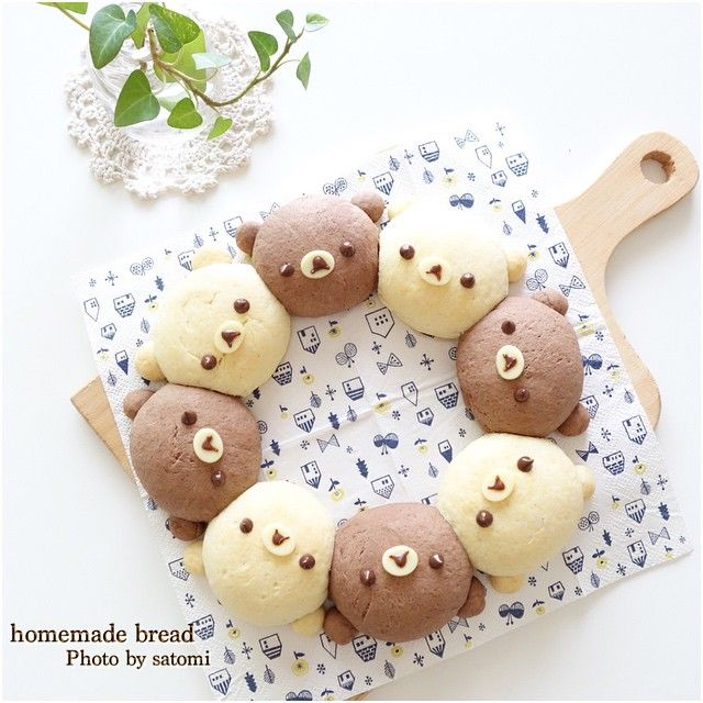 home made brown bear bread
