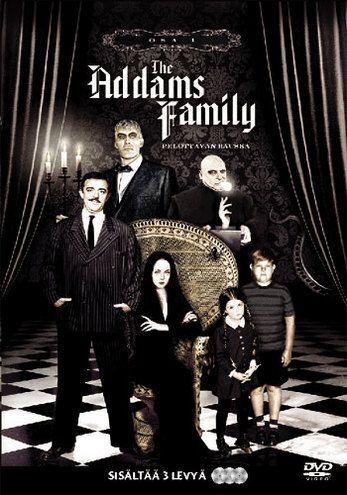Addams Family - kausi 1 dvd