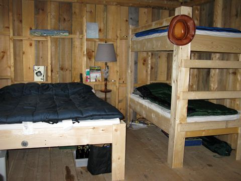 Camp style beds
