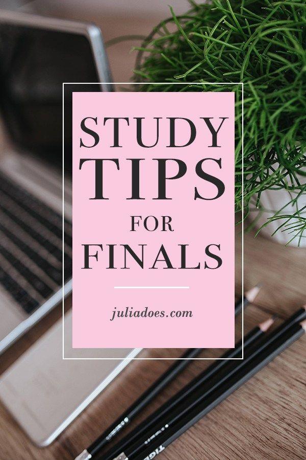 Finals Study Tips - Julia Does