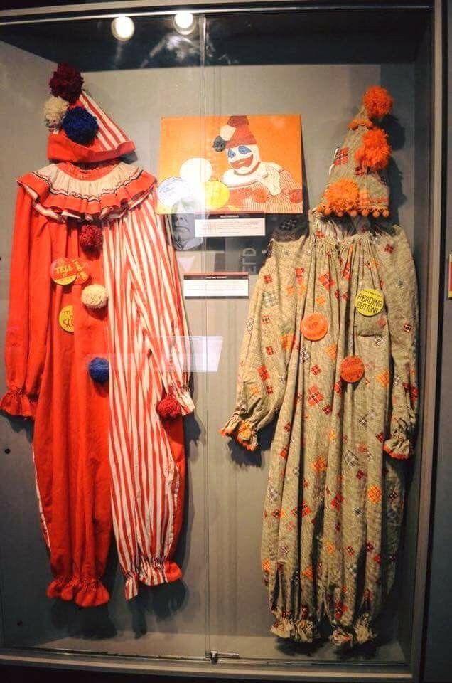 John Wayne Gacy's Clown   Suits