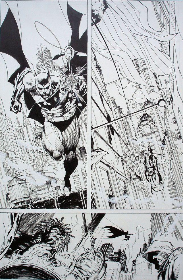 Batman Hush TPB Vol 1 Page 15A By Jim Lee