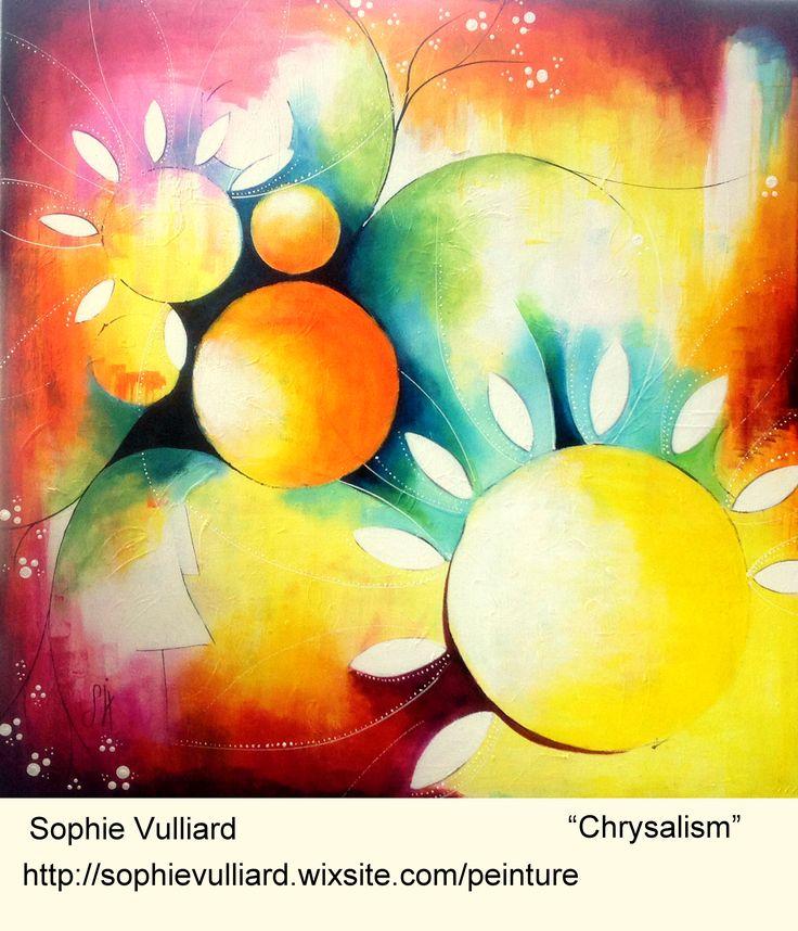 Sophie Vulliard Intuitive Painting Peinture Acrylique Art
