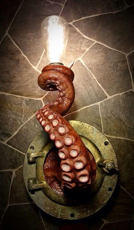 Creepy submarine look
