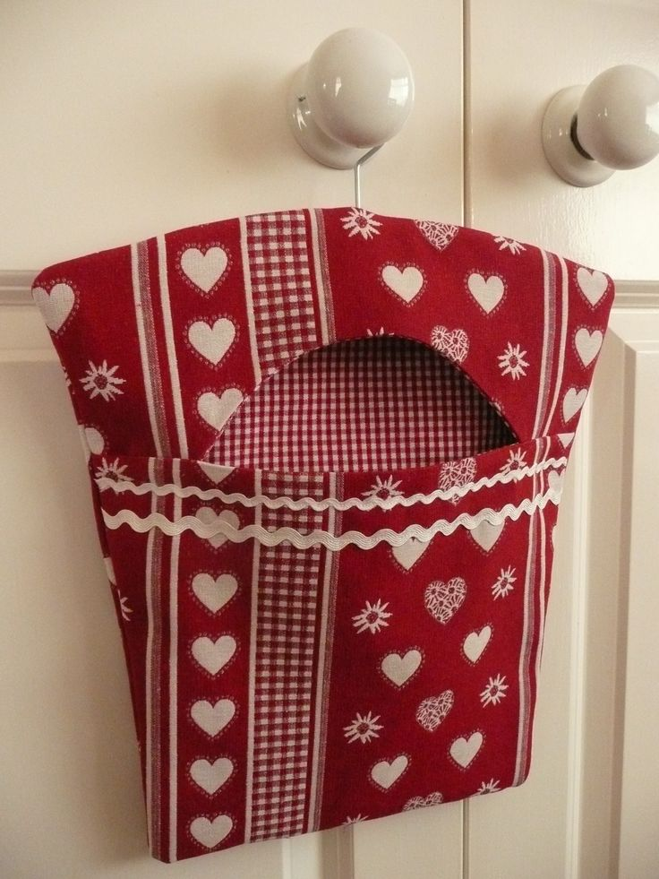 how to make a peg bag pattern