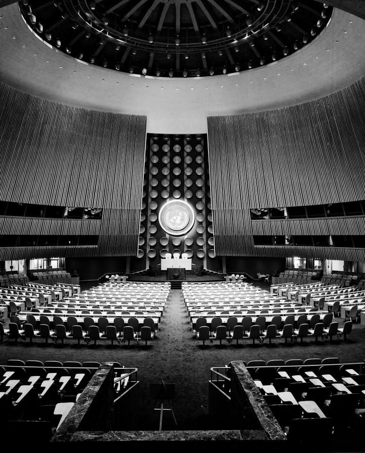 AD Classics: United Nations / Wallace K. Harrison The United Nations General Assembly Building – ArchDaily
