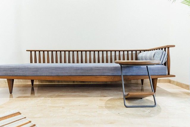 The Teak Wood Furniture In This Home Combines Traditional Purpose Modern Lifestyle Dress Your Home Teak Wood Furniture Wood Furniture Living Room Furniture Design